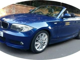 2011 61 BMW 1 SERIES 2.0 118D M SPORT CONVERTIBLE CABRIOLET E88 DIESEL 143hp