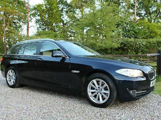 2011 61 BMW 520 2.0TD SE TOURING 5 DOOR ESTATE FSH WARRANTIED LOW MILEAGE