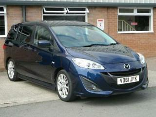 2011 61 MAZDA MAZDA 5 2.0 SPORT 5D 148 BHP FSH LEATHER BLUETOOTH PARKING SENSORS