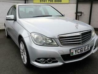2011 61 MERCEDES BENZ C CLASS 2.1 C220 CDI BLUEEFFICIENCY ELEGANCE ED125 4D 170