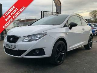 2011 61 SEAT IBIZA 1.4 SE COPA 3D 85 BHP+CRUISE CONTROL+AUX PORT+LOOKS THE PART