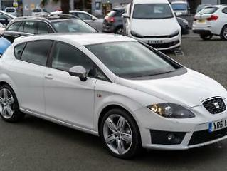 2011 61 Seat Leon 2.0 TDI CR FR+ 170ps