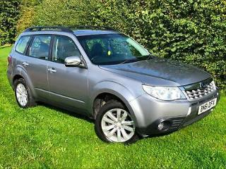 2011 61 Subaru Forester XS 2.0i Auto Grey 2 Owners Petrol Leather Full MOT FSH