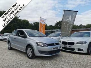 2011 61 VOLKSWAGEN POLO 1.2 S A/C 3DR 60 BHP