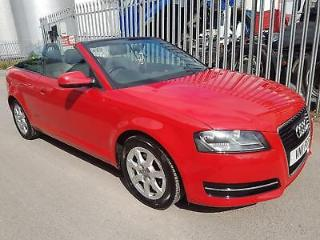 2011 Audi A3 Cabriolet 1.2 TFSI CONVERTIBLE HISTORY MOT IMMACULATE