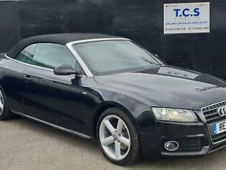 2011 AUDI A5 1.8 TFSI 160 BHP S LINE CONVERTIBLE ONLY 48K FULL LEATHER