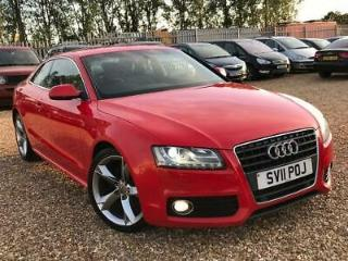 2011 Audi A5 2.0 TDI S line Special Edition Coupe 2dr Diesel Manual
