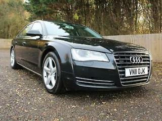 2011 Audi A8 4.2 TDI SE Executive Tiptronic quattro 4dr Saloon Diesel Automatic