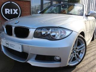 BMW 1 Series 2.0 118D M SPORT 2d AUTO 2 OWNER CAR HEATED CORAL RED DAKOTA LEATHER UPGRADE 18 ALLOYS PARKING Convertible 2011, 28000 miles, £9850