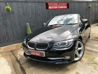 2011 BMW 3 SERIES DIESEL CONVERTIBLE 330 D SE AUTO REDUCED SAVE £500 WAS £10750
