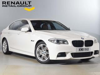 BMW 5 Series 2.0 520d M Sport 4dr Full Leather Interior! 2011, 66903 miles, £8290