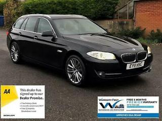 2011 BMW 5 Series 3.0 530d SE Touring PRO NAV, 5 CAMERAS, SPORT GEARBOX,OYSTER