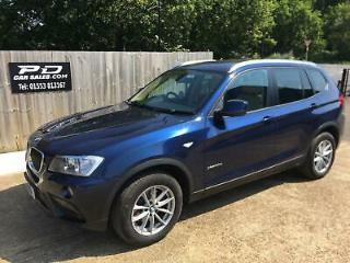 2011 BMW X3 2.0TD X Drive 20d 184bhp Diesel Automatic NEW TURBO FITTED