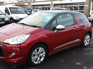 2011 CITROEN DS3 1.6 e HDi Diesel Airdream From £5,995 + Retail Package
