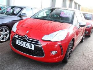 Citroen DS3 1.6 e HDi 110 A/D DSport+ 3dr Hatchback 2011, 34341 miles, £5999