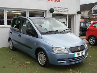 2011 FIAT MULTIPLA 1.9 JDT PROFESSIONAL WHEEL CHAIR ACCESS 34,000 MILES WITH FSH