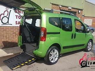 2011 Fiat Qubo Automatic Disabled Wheelchair Accessible Up Front Passenger