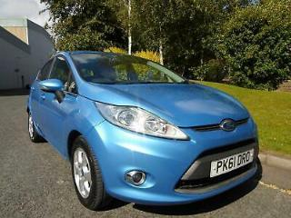2011 Ford Fiesta 1.6TDCi 95ps DPF Econetic 2012MY Zetec