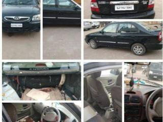 Black 2011 Hyundai Accent CNG 97800 kms driven in ONGC
