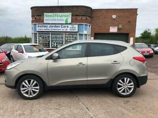 2011 Hyundai ix35 2.0 CRDi Premium 5dr FOUR WHEEL DRIVE ONE OWNER 5 door Estate