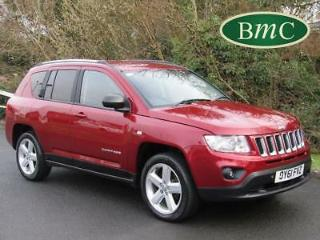 2011 Jeep Compass 2.2 CRD Limited 5dr