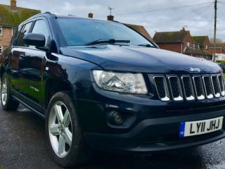 2011 Jeep Compass CRD Limited Heated leather, Bluetooth, 65000 miles