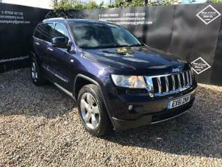 2011 Jeep Grand Cherokee 3.0 CRD V6 Overland 4x4 5dr Auto SUV Diesel Automatic