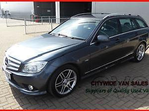 2011 Mercedes Benz C250 2.1TD Blue F auto CDI AMG Sport Estate