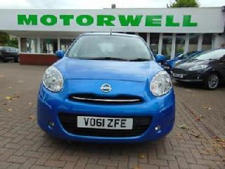 2011 NISSAN MICRA 1.2 DiG S Acenta 5dr Automatic