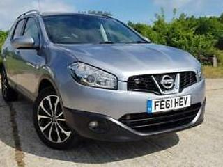 2011 Nissan Qashqai+2 2.0 dCi N Tec Auto 4WD 1 Owner Full S.History GREAT SPEC