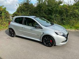 2011 Renault Clio 2.0 Renaultsport RS200 Silverstone GP, 3dr, Silver, 44k Miles