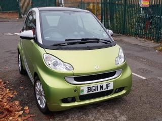 2011 Smart For Two 451 1.0L Passion MDH Automatic Petrol Navigation 17900 miles