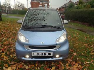 2011 Smart fortwo 1.0mhd 71bhp Softouch Passion [1 OWNER+NAV+PHONE+PAN ROOF]