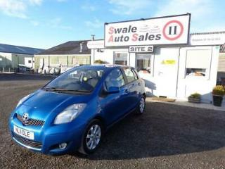 2011 TOYOTA YARIS 1.3 T SPIRIT VVT I 5 DOOR 99 BHP IDEAL FIRST CAR