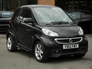 2012/12 Smart fortwo 1.0 71bhp Softouch 2012MY Pulse