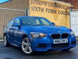2012/62 BMW 118D 2.0TD 143bhp 2013MY d M Sport F20 1 SERIES DELIVERY+LEATHER