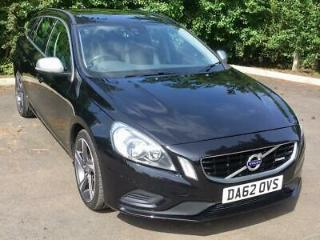 2012/62 Volvo V60 D3 R design Diesel Estate Good Service History £30 Tax
