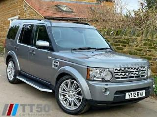 2012 12 LAND ROVER DISCOVERY 3.0 4 SDV6 HSE 5D 255 BHP DIESEL