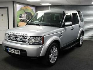 2012 12 Land Rover Discovery 4 3.0SDV6 255bhp Auto 2012MY GS *FACELIFT 8SPD