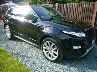 2012 12 Range Rover Evoque 2.2 SD4 Dynamic Lux, 39000 miles, REDUCED