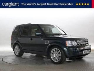 2012 12 Reg Land Rover Discovery 3.0 SDV6 255 HSE Aintree Green DIESEL AUTOMAT