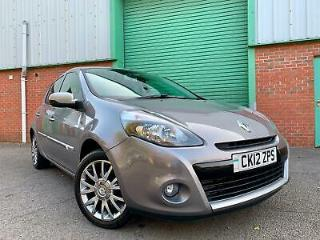 2012 12 Renault Clio 1.5dCi 88bhp GT Line TomTom 40,000 MILES 2 OWNERS