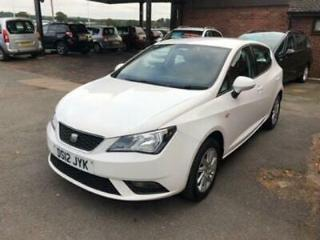 2012 12 SEAT IBIZA 1.4 SE 5DR 85 BHP ONE LADY OWNER, 63K MILES, HPI CLEAR,2 KEYS