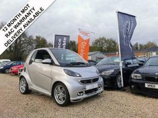 2012 12 SMART FORTWO COUPE 1.0 BRABUS XCLUSIVE 2DR 102 BHP
