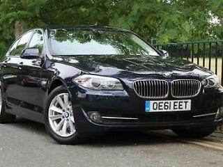 2012 61 BMW 5 Series 2.0 520d SE 4dr Saloon