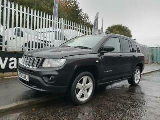 2012 61 JEEP COMPASS 2.0 LIMITED 154 BHP SAT NAV LEATHER HEATED SEATS AIR CON LO