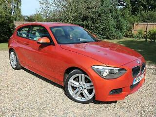 2012 62 BMW 120 2.0TD 184bhp Sports Hatch Auto d M Sport valencia Orange
