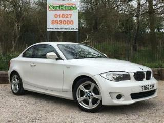 2012 62 BMW 1 SERIES 2.0 118D EXCLUSIVE EDITION 2DR DIESEL