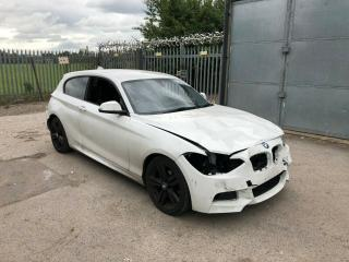 2012 62 BMW F21 1 SERIES 118D M SPORT DAMAGED SALVAGE REPAIR CAT HIGH SPEC F20