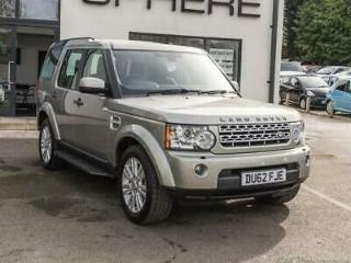 2012 62 LAND ROVER DISCOVERY 3 DISCOVERY 5DR 3.0 SDV6 XS DIESEL